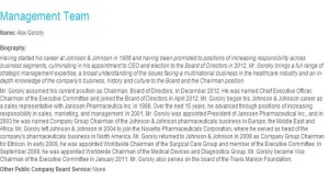 Alex Gorsky bio jnj second one final