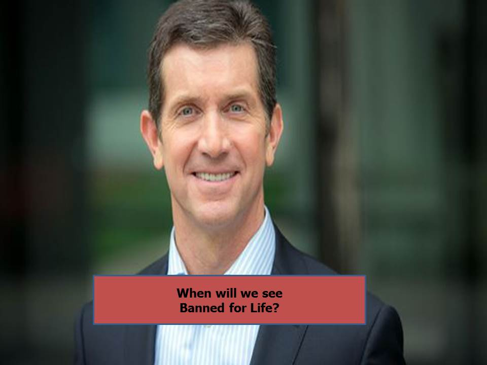 Alex Gorsky CEO of Johnson & Johnson Banned for Life