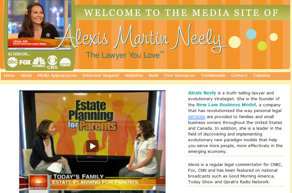 Alexis Martin Neely TV appearances inconsistent and contradictory language 1