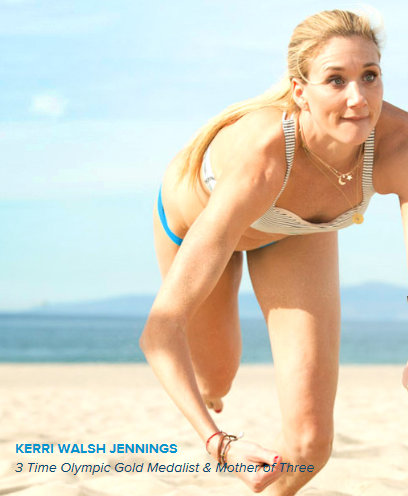 Designer Whey Kerri Walsh Jennings 3 Time Olympic Gold Medalist Mother of Three