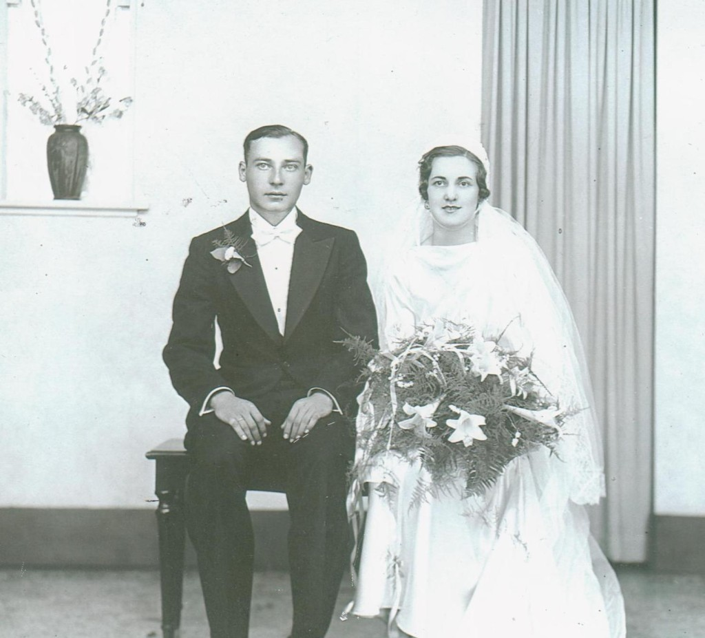 Nana and Pap Wedding Picture 001