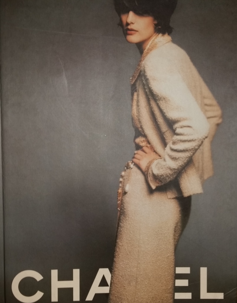 Cover Chanel Collection Automne-Hiver 1996-1997