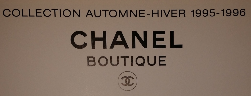 Title Page Chanel Collection Automne-Hiver 1995-1996