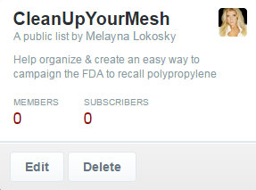 Clean Up Your Mesh Twitter Campaign