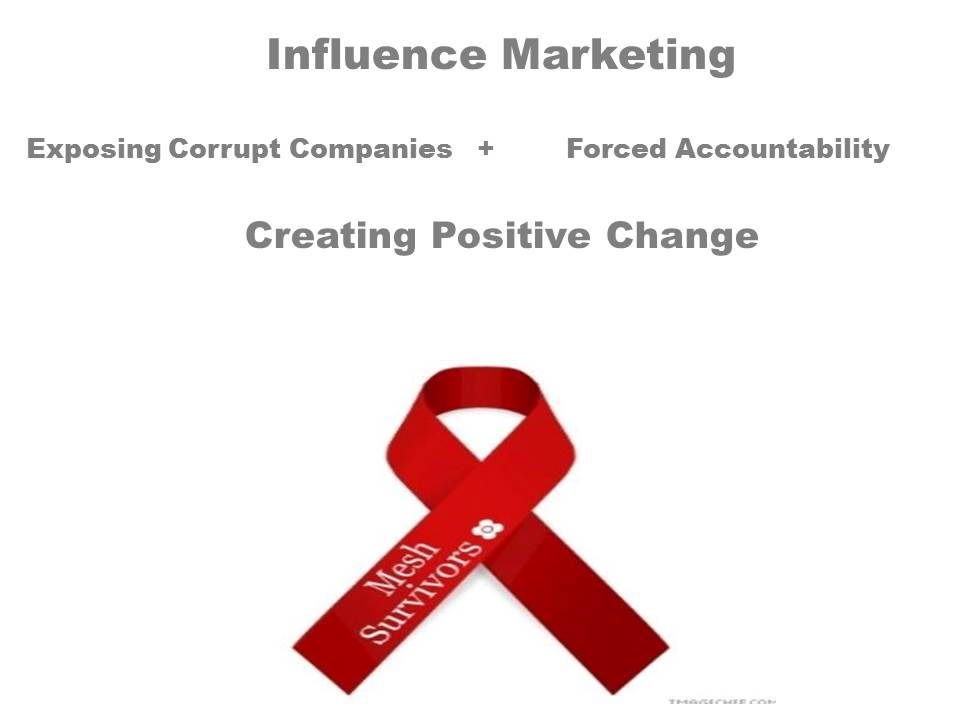 Influence Marketing is the UnMarketing Campaign for a Corrupt Company