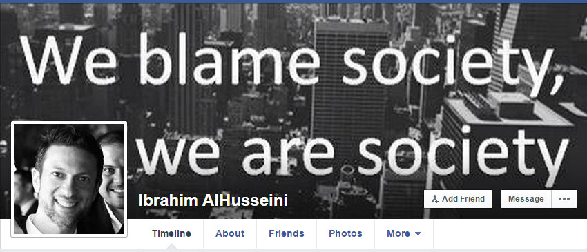 Ibrahim Alhusseini Face Book Page Case Study 1 20 2015