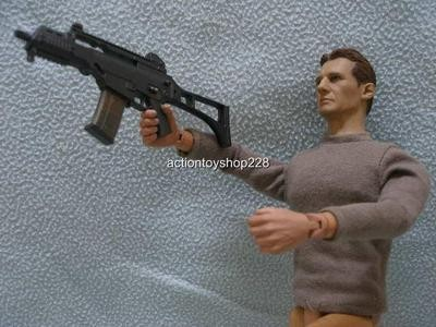 Liam Neeson Gun Toting Action Figure