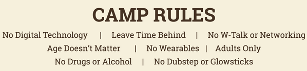 Camp Grounded Rules
