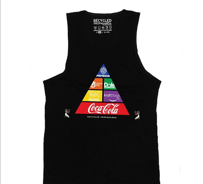 Food Pyramid Recycled Propaganda