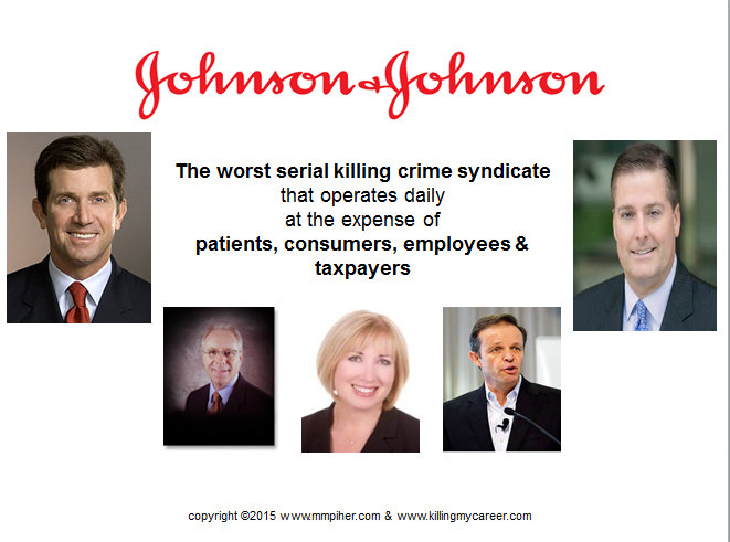 Johnson & Johnson DePuy Synthes Serial Killing Syndicate