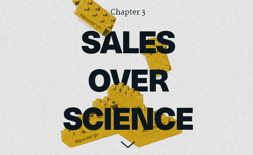 Johnson & Johnson Sales Over Science Chapter 3 Steven Brill