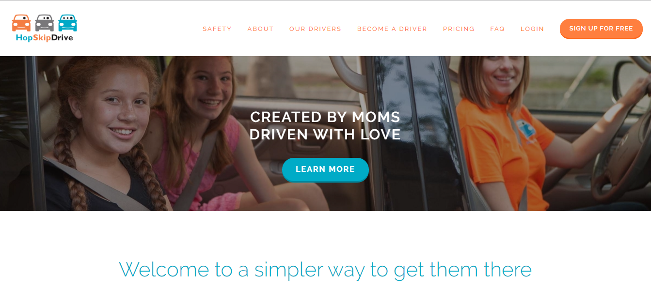 HopSkipDrive is why you never need to think about putting your child in an Uber again.