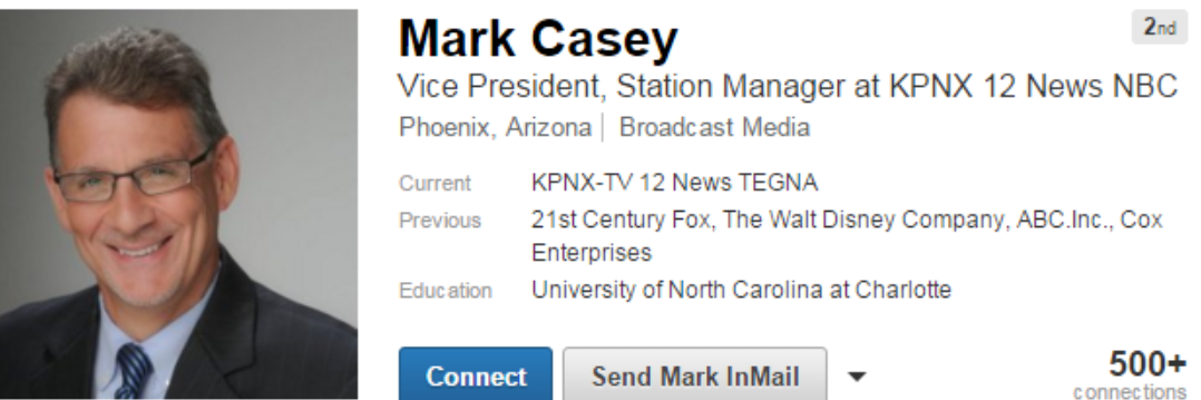 Mark Casey TEGNA NBC 12 News #TheSociopathicBusinessModel