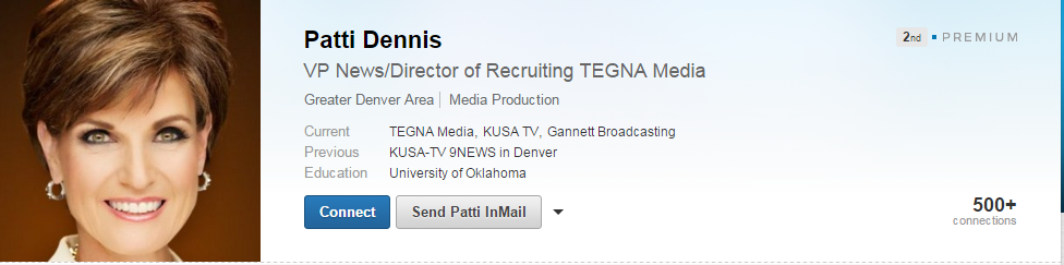 Should TEGNA NBC 12 News Patti Dennis update her resume