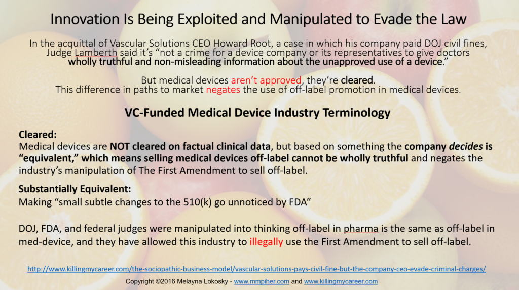 innovation-is-being-exploited-manipulated-to-evade-the-law-in-medical-devices4