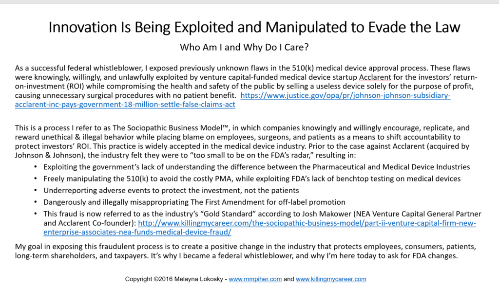 innovation-is-being-exploited-manipulated-to-evade-the-law-in-medical-devices7