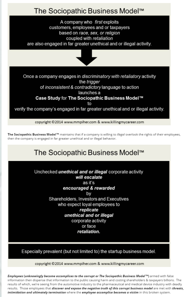 thesociopathicbusinessmodel-sexism-racism-retaliation-denials-trigger-far-greater-unethical-illegal-behavior