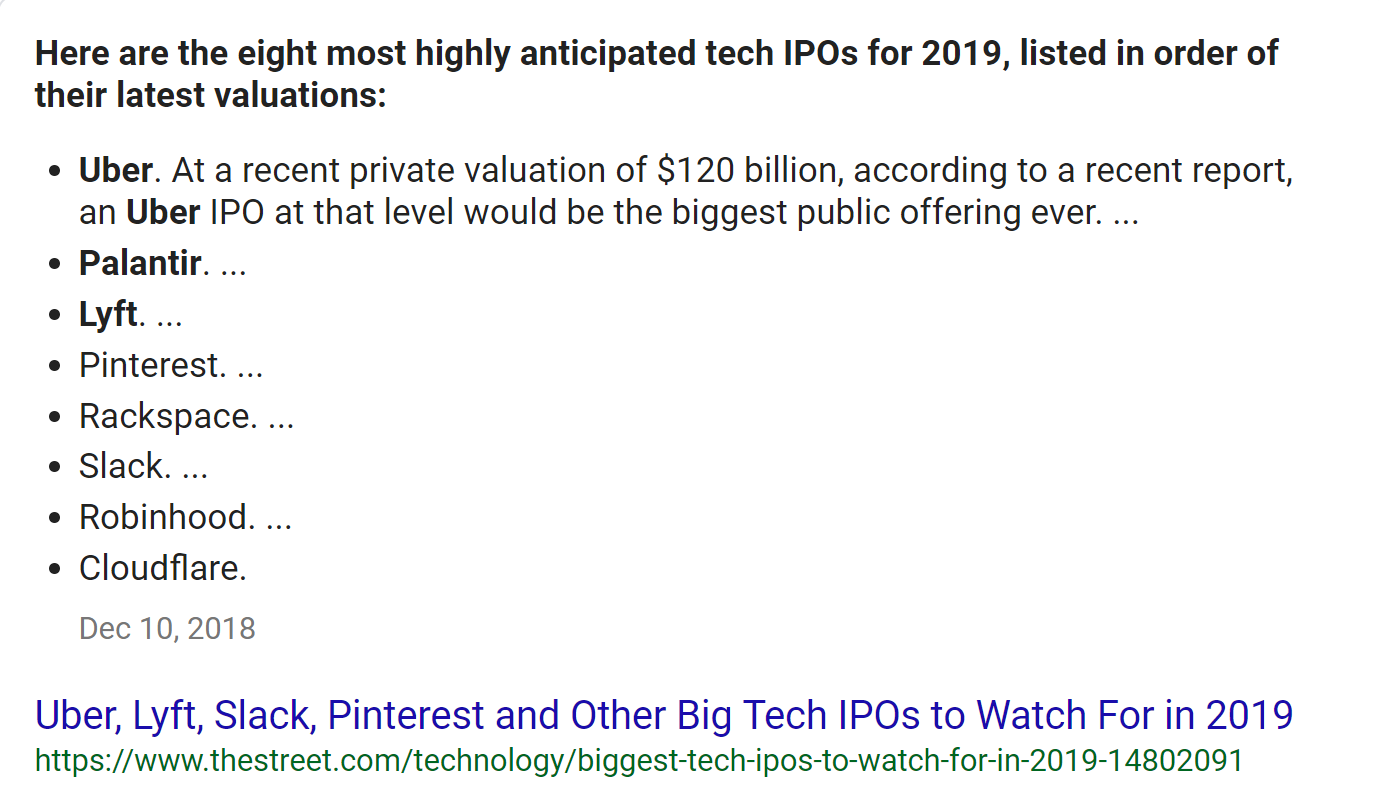 2019 is the Year of the Startup IPO: How Not to Get Gored by a