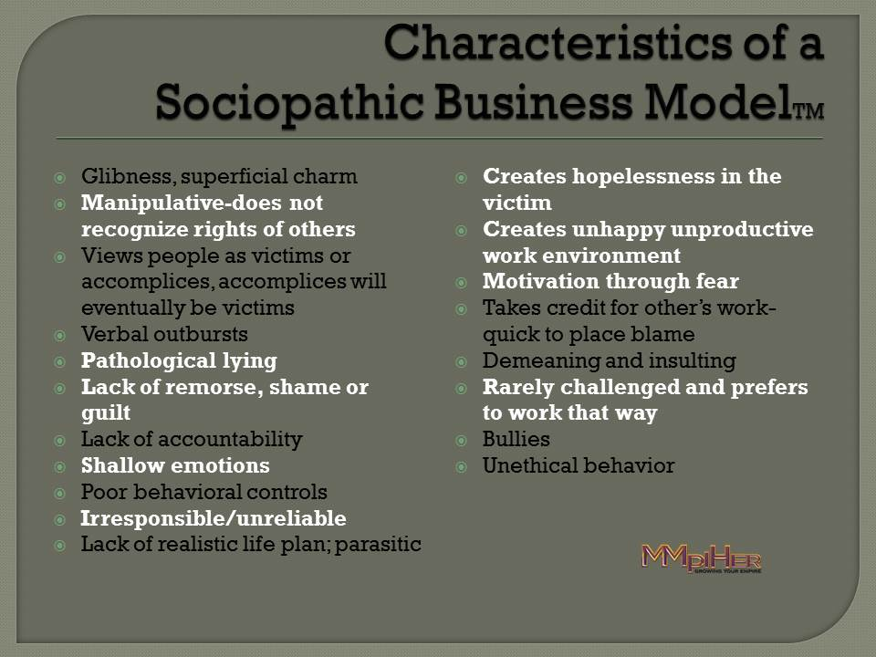 Sociopathic Business model Krypo