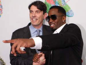 tim-armstrong-and-p-diddy-at-the-nyse