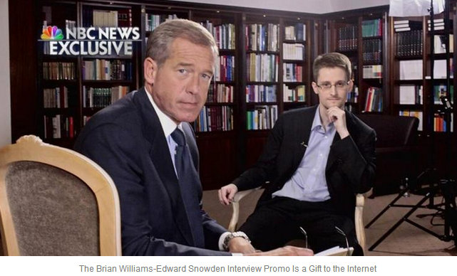 Brian Williams and NBC Showed Journalistic Bias against Snowden in Promo