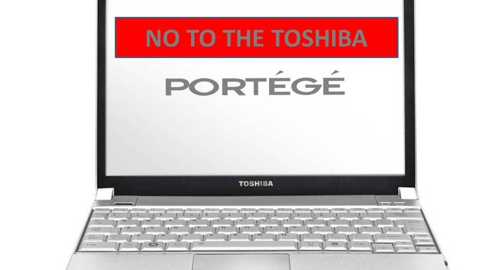 No to the Toshiba Portege Until They Sell Batteries from their site to suppor their product final