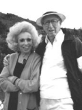 Annette Strauss and Milton Strauss