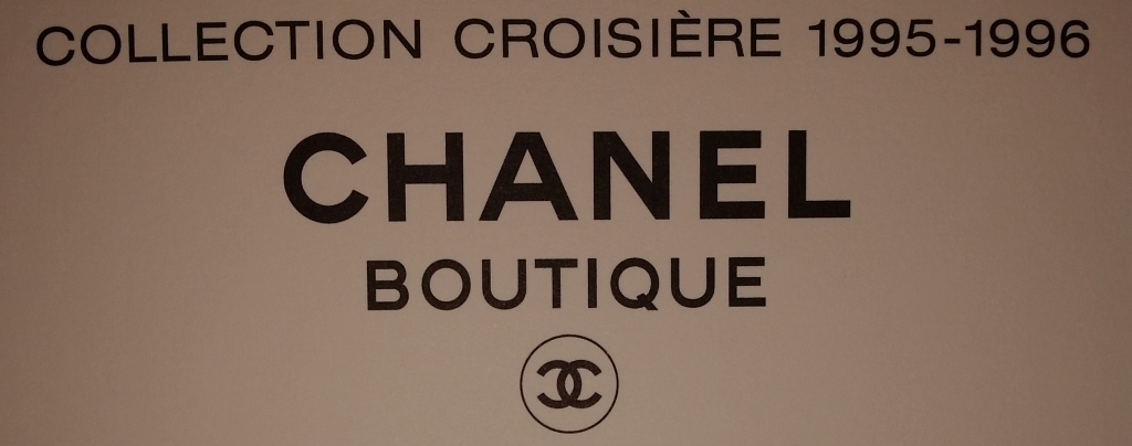 Chanel Collection Croisiere 1995 1996