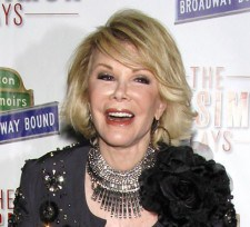 Joan Rivers in Chanel