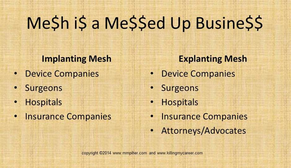 Mesh is a Messed Up Business Killing My Career
