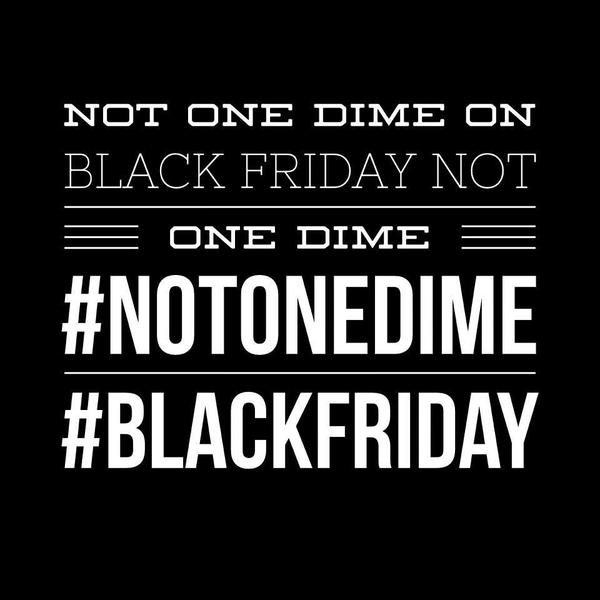 #BlackoutBlackFriday