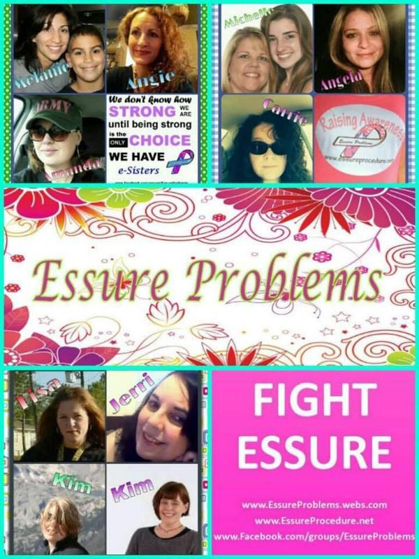Essure Victims giving their cause a face
