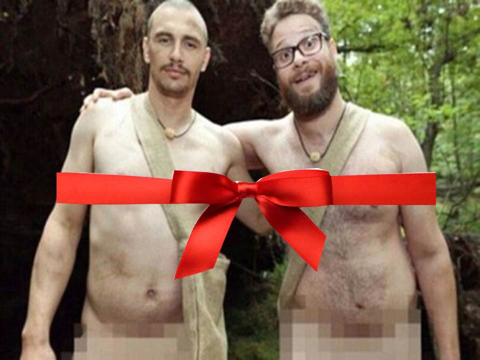 Seth Rogen James Franco A gift for North Korea