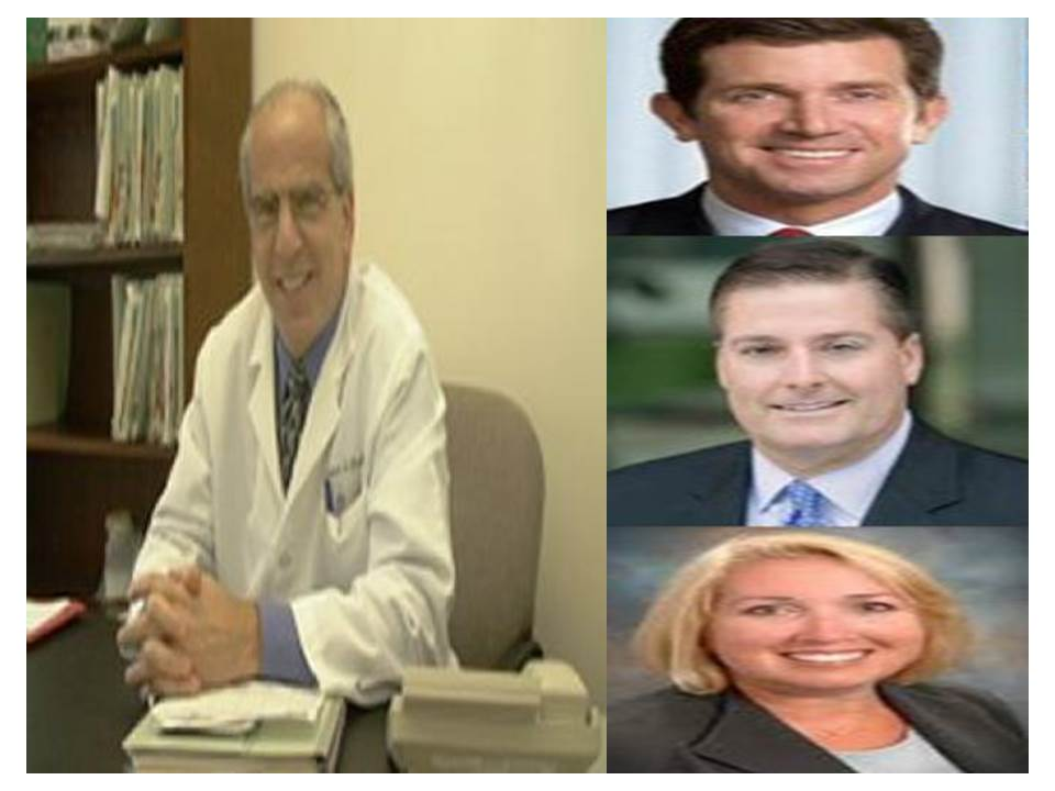 Alex Gorsky Gary Pruden Bridget Ross JNJ Ethicon Gynecare with JNJ and FDA consultant Dr. Andrew Brill