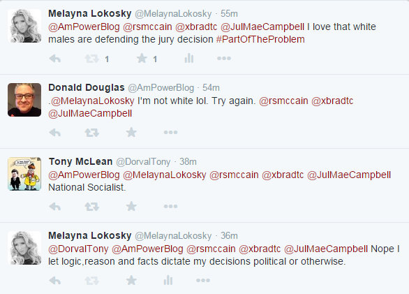 Tony McLean and Donald Douglas Twitter attack 3 27 2015