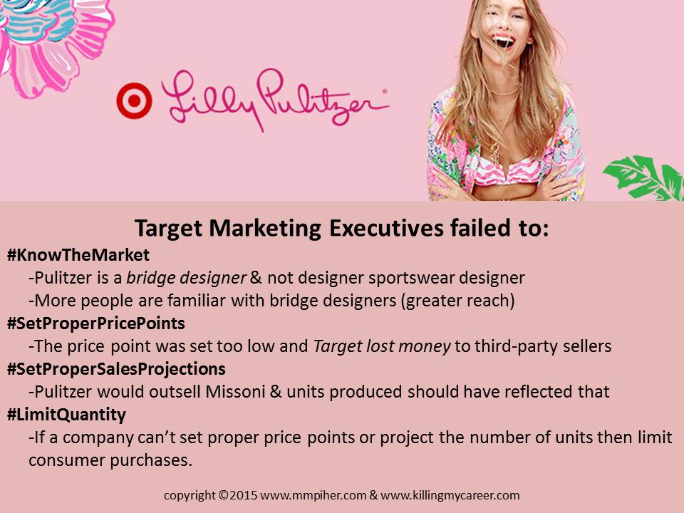 #LillyForTarget Executives Failed #LillyForEbay