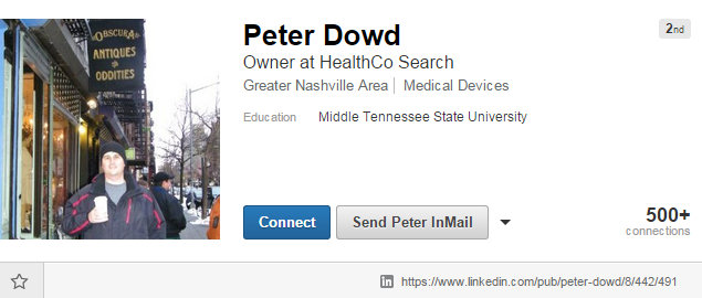 Peter Dowd Medical Device Recruiter for HealthCo Search