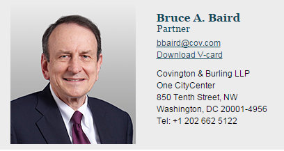 The Sociopathic Business Model™ Covington Partner Bruce A. Baird