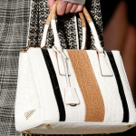 Prada Spring trend color block handbag 2016