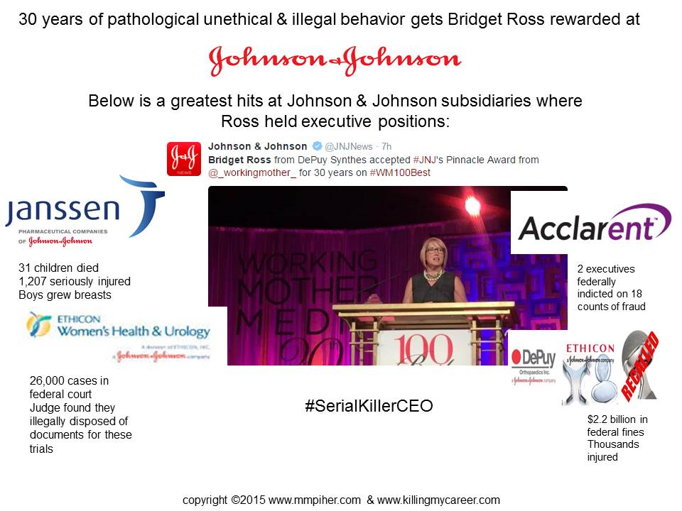 THIS is what wins a Pinnacle Award at Johnson & Johnson?