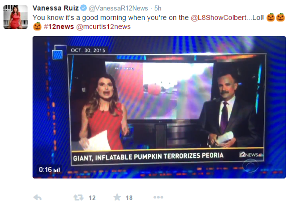 TEGNA NBC 12 News Vanessa Ruiz tries to spin her unprofessionalism while manipulating facts.