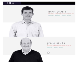 NEA Venture Partners and ExploraMed Board Members Ryan Drant & John Nehra