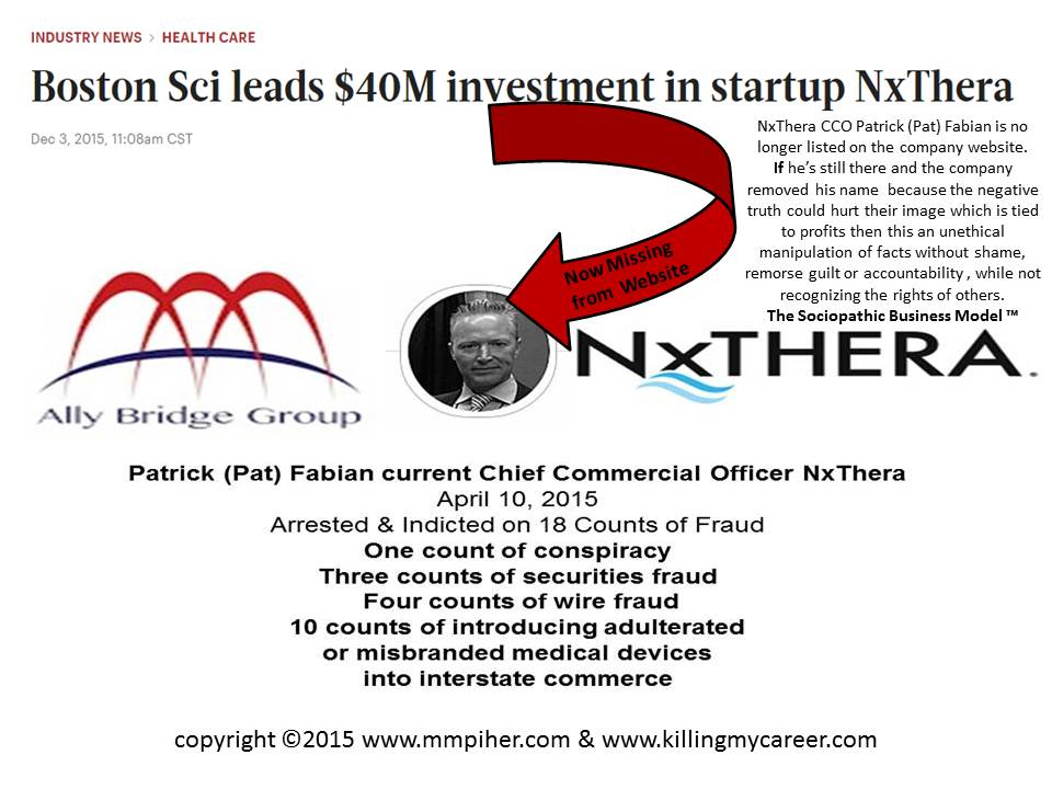 Are VC investors who control the startup NxThera acting unethically?