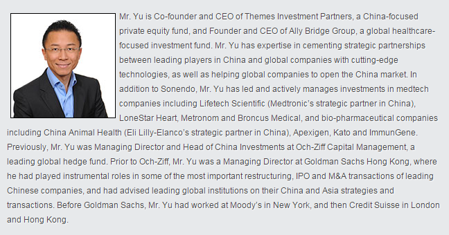 Frank Yu's Ally Bridge Group also funding NxThera