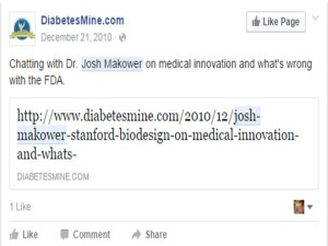 Dr Josh Makower Telling the FDA Whats wrong with them