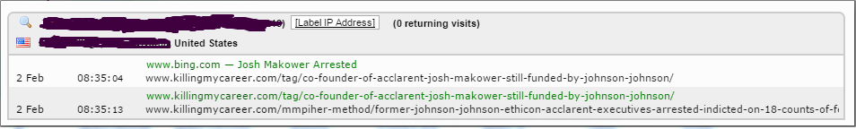 Josh Makower arrested redacted
