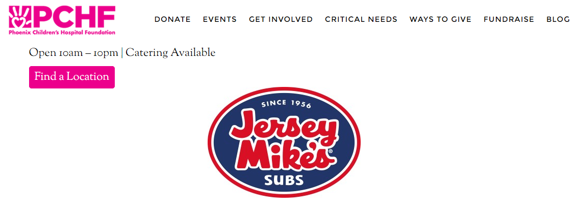 PCH Jersey Mikes Subs