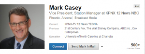 Should TEGNA NBC 12 News Mark Casey update his resume